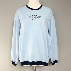 Vintage 90's NIKE Crewneck Spellout Sweatshirt M